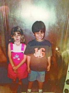 Taylor and Jeffrey in Kindergarten