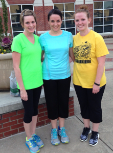 SUBMITTED/THE ARKA TECH: Winners of the women's division of the recent St. Patty's Day 5K were (from left) Teri Merritt, Jennifer Barnes and Jade Davis.