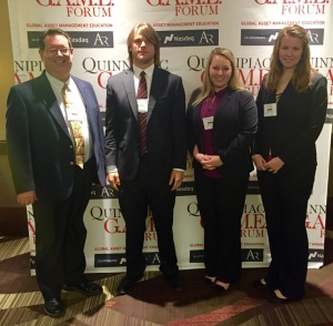 SUBMITTED/THE ARKA TECH: Dr. Mark Reavis, John Brashear, Sarah Casey and Katy Gatling at a recent conference in New York.